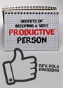 Picture of Secrets of Becoming a Very Productive Person (CD Series)