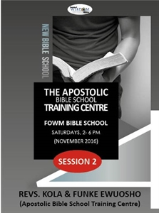 Picture of Apostolic Bible School (1) S2 (CD Pack)
