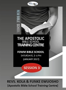 Picture of Apostolic Bible School (1) S3 (CD Pack)