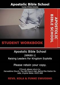 Picture of Apostolic Bible School (1) WORKBOOK + CDS